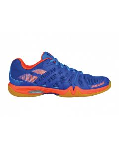 CHAUSSURES DE BADMINTON BABOLAT SHADOW TEAM HOMME 30S1805 298 BLEU/ORANGE
