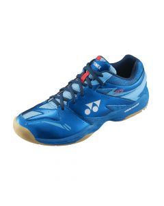 CHAUSSURES DE BADMINTON HOMME YONEX POWER CUSHION 55 SHB55EX BLEU