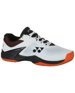 CHAUSSURE DE TENNIS HOMME YONEX ECLIPSION 2 TERRE BATTUE SHTELS2CEX BLANC/ORANGE