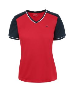 TEE SHIRT MANCHES COURTES FILLE FILA SOFIE FBL181011K ROUGE