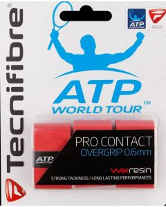 TECNIFIBRE SURGRIP PRO CONTACT ROUGE LOT DE 3