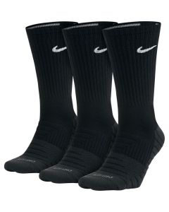 CHAUSSETTES NIKE DRY CUSHIONED CREW TRAINING SX5547 010 NOIR