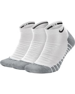 CHAUSSETTES NIKE MAX CUSHION BASSES LOT DE 3 SX6964 100 BLANC