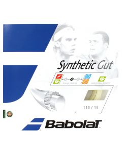 CORDAGE DE TENNIS BABOLAT SYNTHETIC GUT GARNITURE ISSUE DE BOBINE 12M