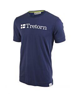 TEE SHIRT HOMME TRETORN COTON 475504 87 BLEU/JAUNE