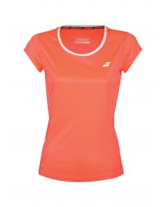 TEE SHIRT BABOLAT FILLE FLAG CORE CLUB 3GS18011 5005 ORANGE FLUO