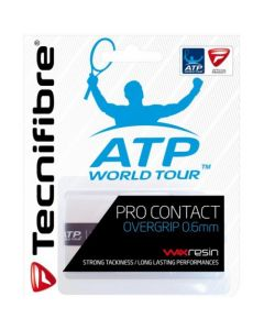 TECNIFIBRE SURGRIP PRO CONTACT BLANC LOT DE 3