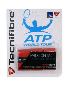 SURGRIP TECNIFIBRE PRO CONTACT x3 ROUGE