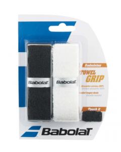 BABOLAT TOWEL GRIP NOIR/BLANC