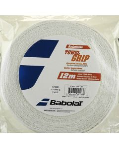 BABOLAT TOWEL GRIP BLANC ROULEAU 12 METRES