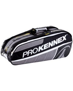 THERMOBAG PRO KENNEX TRIPLE GRIS/NOIR 12 RAQUETTES