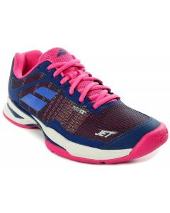 CHAUSSURES TENNIS FEMME BABOLAT JET MACH I ALL COURT 31S18651 4006 VIOLET/ROSE