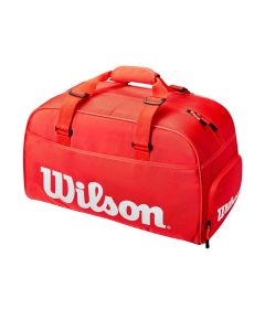 SAC WILSON SUPER TOUR SMALL DUFFLE WR8011001 ROUGE