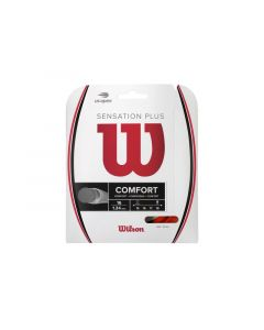 CORDAGE DE TENNIS WILSON SENSATION COMFORT PLUS GARNITURE 12M WR8300401 ROUGE