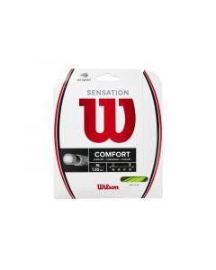CORDAGE DE TENNIS WILSON SENSATION COMFORT GARNITURE 12M WR8301701 VERT