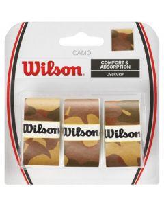 SURGRIPS WILSON PRO OVERGRIP CAMO WRZ470830 MARRON