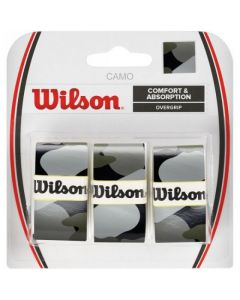 SURGRIP WILSON CAMO PRO OVERGRIP x3 WRZ470830 NOIR