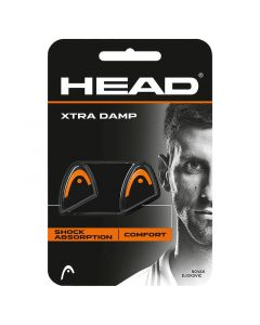 ANTIVIBRATEUR HEAD XTRA DAMP x2 285511 NOIR ORANGE