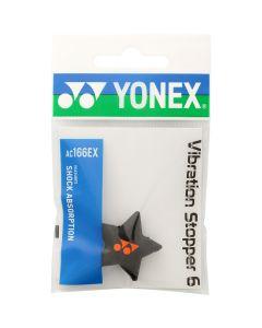 ANTIVIBRATEUR YONEX VIBRATION STOPPER 6 ETOILE AC166EX NOIR/ORANGE