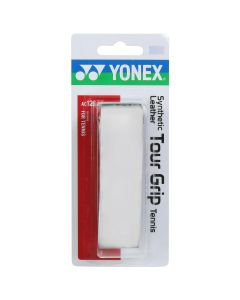 GRIP YONEX SYNTHETIC LEATHER TOUR GRIP AC126EX BLANC