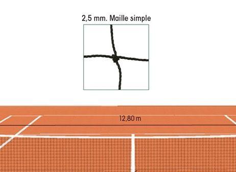 FILET DE TENNIS 2.5mm MAILLE 45mm  FT101