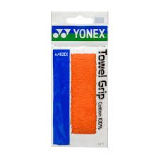 GRIP BADMINTON EPONGE YONEX TOWEL GRIP AC402EX ORANGE