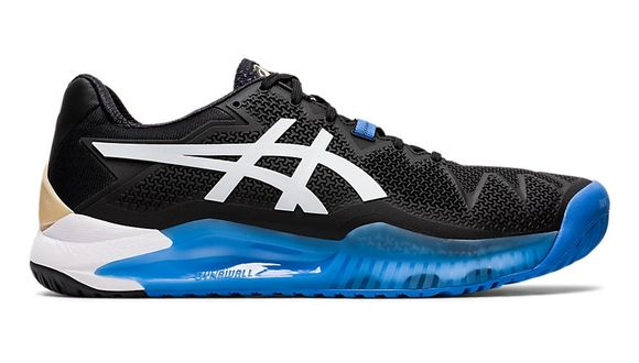 CHAUSSURES TENNIS ASICS GEL-RESOLUTION 8 1041A079 001 NOIR-BLANC