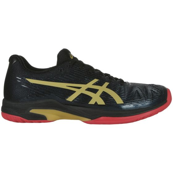 CHAUSSURES DE TENNIS FEMME ASICS SOLUTION SPEED FF L.E 1042A047 001 NOIR