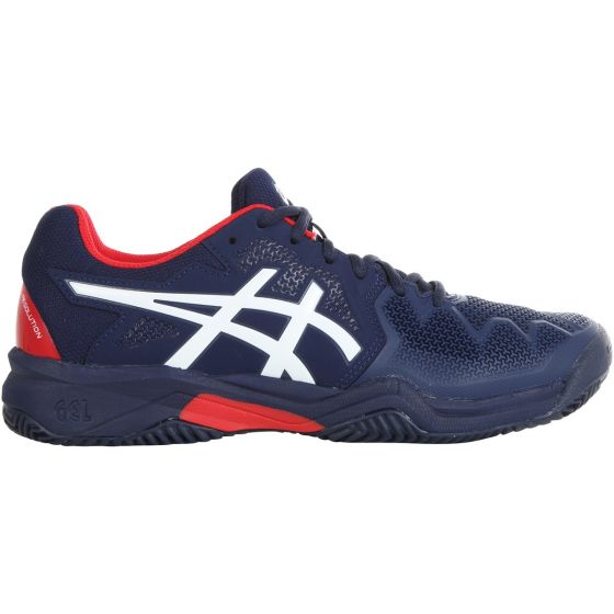 CHAUSSURES JUNIOR ASICS GEL RESOLUTION 8 CLAY GS 1044A019 400 BLEU