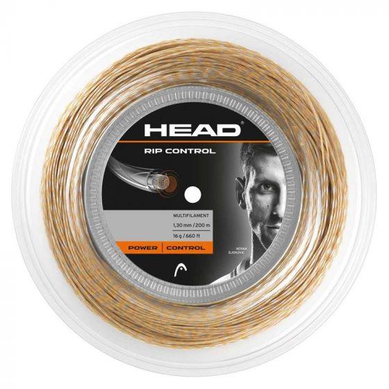 CORDAGE DE TENNIS HEAD RIP CONTROL BOBINE 200M NATURAL