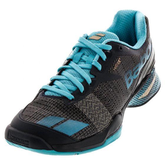 Chaussure de Tennis Femme Babolat Jet All Court 31S17630 180 NOIR/BLEU