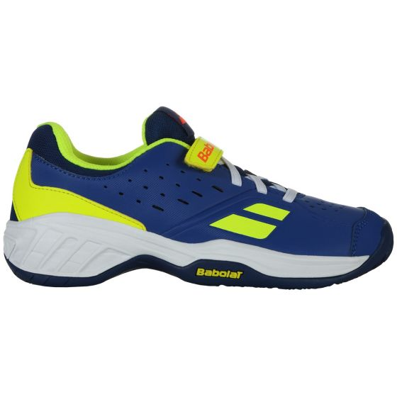 Chaussure de Tennis Junior Babolat Pulsion AC Kid 32S19518 4043 Bleu/Jaune