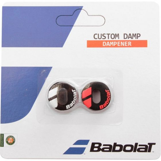 ANTIVIBRATEUR BABOLAT CUSTOM DAMP 700040 189 BLACK FLUO RED