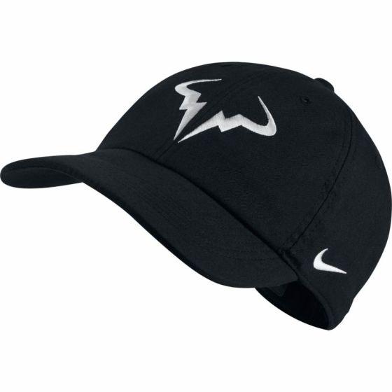 CASQUETTE NikeCourt AeroBill H86 Rafa Tennis NOIR 850666