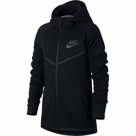Boys' Nike Sportswear Tech Fleece Windrunner Hoodie 856191