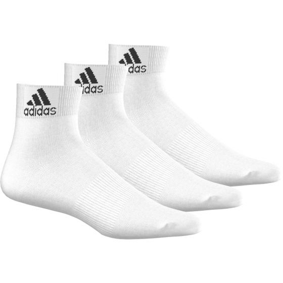 CHAUSSETTES ADIDAS PER ANKLE T 3PAIRES AA2320 BLANC