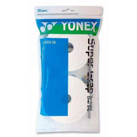 SURGRIP YONEX SUPER GRAP x30 AC102EX-30 BLANC