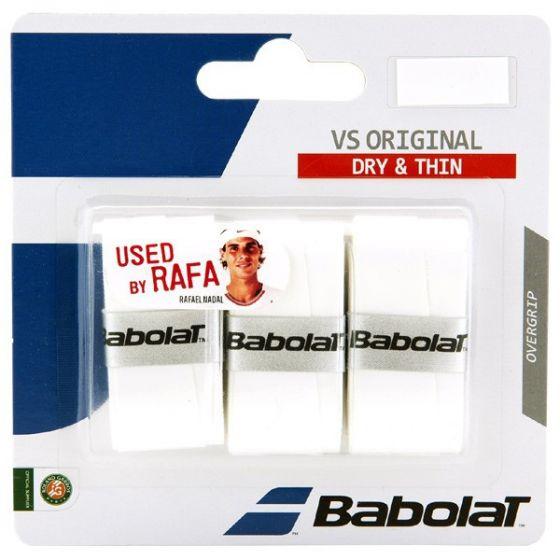 SURGRIP BABOLAT VS ORIGINAL x3 653040 101 BLANC