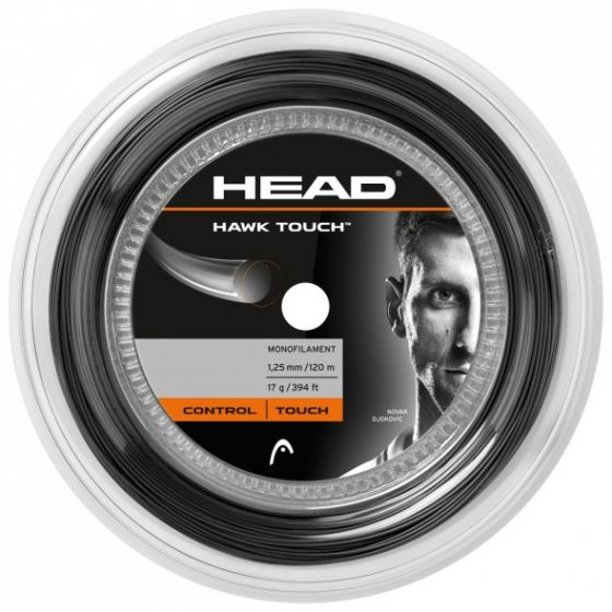 CORDAGE DE TENNIS HEAD HAWK TOUCH BOBINE 120M