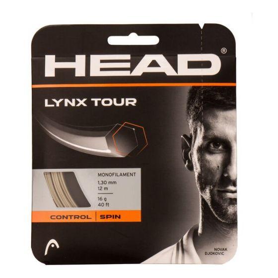 CORDAGE DE TENNIS HEAD LYNX TOUR 281790 CHAMPAGNE GARNITURE 12M