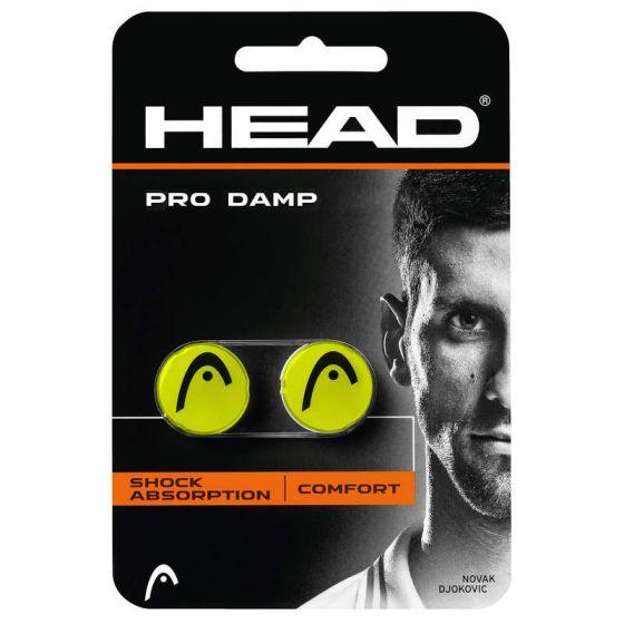 ANTIVIBRATEUR HEAD PRO DAMP x2 285515 JAUNE