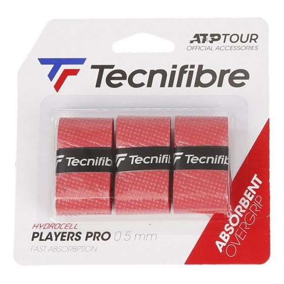 SURGRIP TECNIFIBRE PRO PLAYERS x3 ROUGE