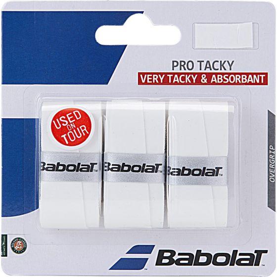 SURGRIP BABOLAT PRO TACKY x3 653039 101 BLANC