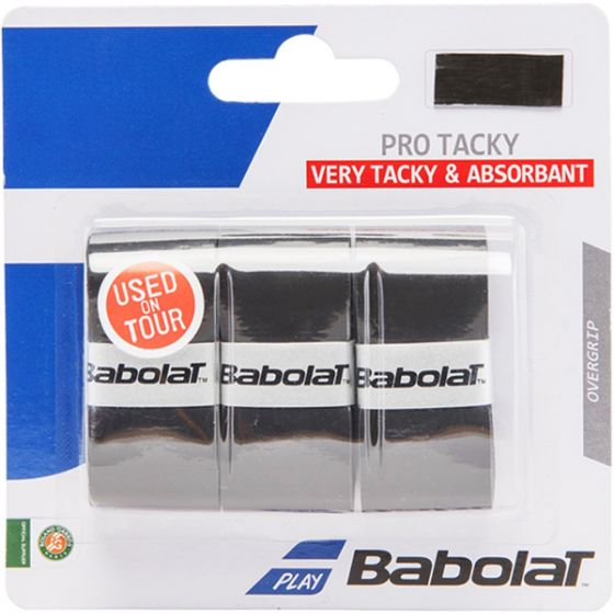 SURGRIP BABOLAT PRO TACKY x3 653039 105 NOIR