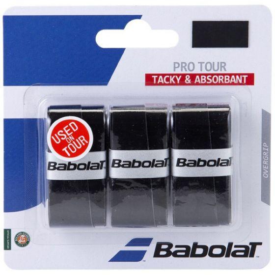 SURGRIP BABOLAT PRO TOUR x3 653037 105 NOIR