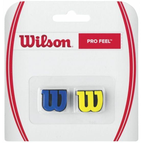 ANTIVIBRATEUR WILSON PRO FEEL x2 WRZ537700 BLEU JAUNE