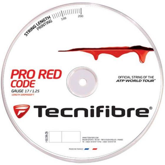 BOBINE DE CORDAGE TECNIFIBRE PRO RED CODE 200M