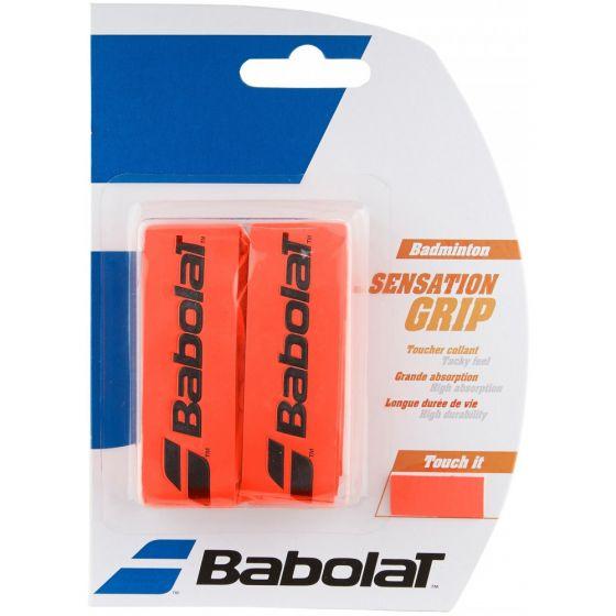 GRIP BADMINTON BABOLAT SENSATION x2 670064 201 ROUGE FLUO
