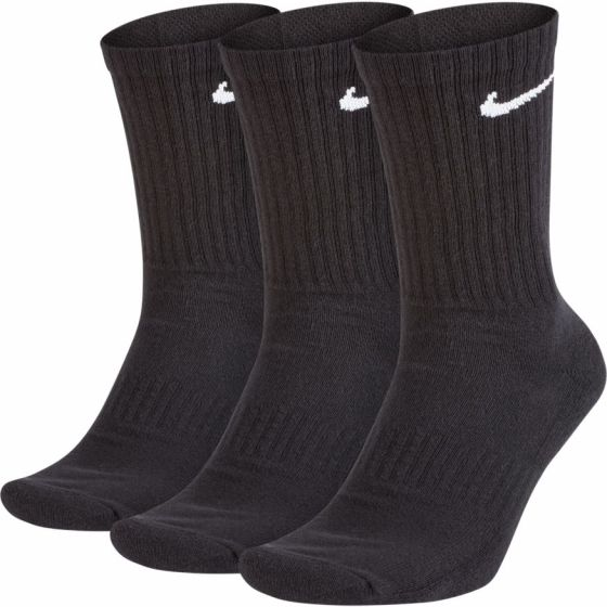 CHAUSSETTES NIKE EVERYDAY COTTON CUSHIONED CREW SX7664 010 NOIR
