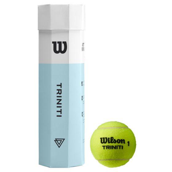 TUBE DE 4 BALLES WILSON TRINITI wrt115200